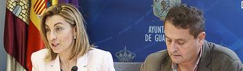Comparecencia sobre acuerdos adoptados en la última Junta de Gobierno Local, Encarnación Jiménez, Francisco Úbeda