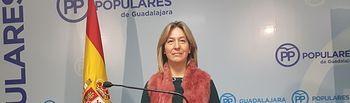 Ana Guarinos, presidenta del PP de Guadalajara y diputada regional. Foto: PP Guadalajara.