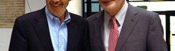 Rubalcaba y Griñán esta tarde en Sevilla