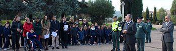 El delegado del Gobierno en Castilla-La Mancha, Jesús Labrador, ha presidido este martes el acto de entrega de los certificados a los centros premiados en la Segunda Edición del Concurso de Proyectos de Educación Vial y de Teatro, convocado por la Dirección General de Tráfico para el curso escolar 2013-2014