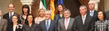 Foto de familia del nuevo ejecutivo andaluz