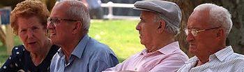 Ancianos. Foto de Archivo.