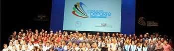 La Gala del Deporte premió a los destacados del año, y reconoció la trayectoria del tenista rodense Guillermo García