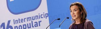La portavoz del PP en el Ayuntamiento de Logroño, Cuca Gamarra