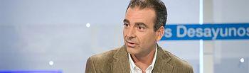 Sebastián Mora, secretario general de Cáritas. Foto: RTVE