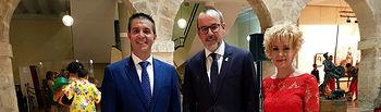 El presidente de la Diputación de Albacete, testigo del arranque de la Feria y Fiestas de Villarrobledo 2018