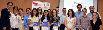 Premiados, finalistas, representantes académicos y jurado del certamen.