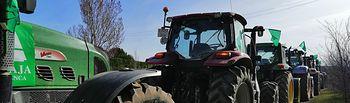 Tractores. Foto: ASAJA Cuenca.