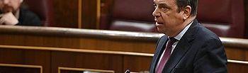 El ministro de Agricultura, Pesca y Alimentación en funciones, Luis Planas.