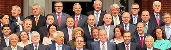 Reunión Consejo Superior de Cámaras de Comercio con El Rey - 11-04-14.