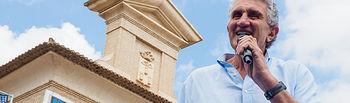 Fernando Romay en el Plaza 3x3 CaixaBank..en la explanada del Pincho de la Feria en Albacete