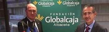 El Consul Honorario de Rumanía para Albacete y Cuenca visita la Fundación Globalcaja Albacete