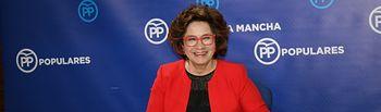 Carmen Riolobos en rueda de prensa.