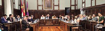 Pleno Diputación de Guadalajara