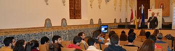 Presentación de la sesión dirigida a estudiantes.