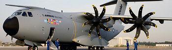 Avión Airbus A400M. Imagen de archivo.