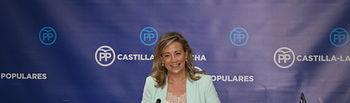 Lola Merino, diputada regional del Grupo Parlamentario Popular en las Cortes de Castilla-La Mancha.