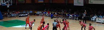Torneo de Baloncesto de Feria 2019, entre UCAM Murcia y Valencia Basket.