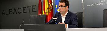 Modesto Belinchón, portavos del GMS en el Ayuntamiento de Albacete.