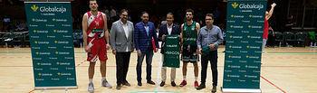 Partido entre el Albacete Basket y el Villarrobledo jugado el 2 de octubre de 2019. Foto: Manuel Lozano Garcia / La Cerca