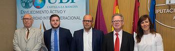 Inauguración de la Jornada de Envejecimiento Activo organizada por la Unión Democrática de Pensionistas (UDP)