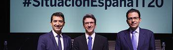 Jorge Sicilia - Rafael Doménech - Miguel Cardoso - Presentación informe BBVA.