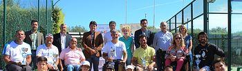 Foto familia X Trofeo 'Ciudad de Albacete' de tenis en silla de ruedas.
