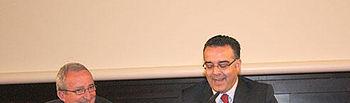 Hugo Muñoz durante la clausura del II Congreso nacional de Mediación e Intervención Familiar