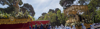 Procesión del Resucitado. Domingo de Resurrección. Semana Santa de Albacete 2017