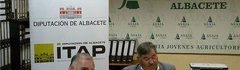 El ITAP firma un convenio de colaboración con ASAJA para la promoción de actividades del sector agrario de la provincia