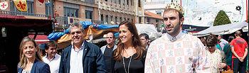 Inauguración de las Jornadas de Cocina Alfonsí y el Mercado Medieval