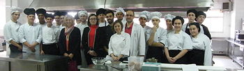 La directora provincial de Educación felicita a la Escuela de Hostelería por la celebración de sus Jornadas Gastronómicas