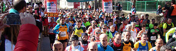 Novecientos atletas participarán en la carrera de Fuentealbilla el domingo.