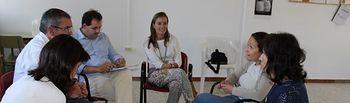 Reunión con la Asociación Española contra el Cáncer de La Roda.