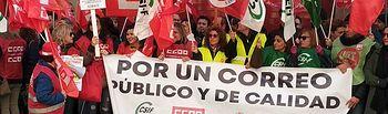 Huelga 30 de Noviembre realizada en Correos.