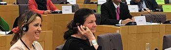 Cristina Maestre, eurodiputada.