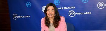 Claudia Alonso, diputada regional del Grupo Parlamentario Popular en las Cortes regionales.