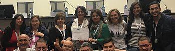 Celadores de la Gerencia de Atención Integrada de Hellín, premiados en las XVIII Jornadas Nacionales celebradas en Vigo