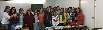 """taller que ha iniciado AJE Castilla-La Mancha en la provincia de Albacete dirigido a la mujer rural y bajo la denominación de """"Rompiendo Barreras"""""""
