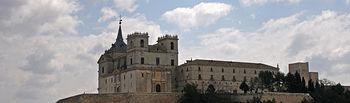Monasterio de Uclés. Wikipedia / Mr. Tickle