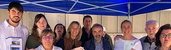Ana Guarinos en Molina de Aragón.
