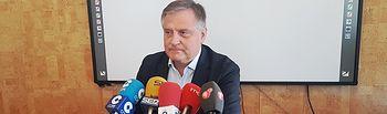 Francisco Cañizares, portavoz del Grupo Municipal Popular del Ayuntamiento de Ciudad Real.