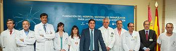 Echániz, balance Hospital Nacional de Parapléjicos 2013 II. Foto: JCCM.