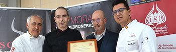 Entrega de premios del III Concurso de Recetas de la IGP Ajo Morado de Las Pedroñeras.