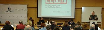 Reunión del Consejo Regional de CCOO.