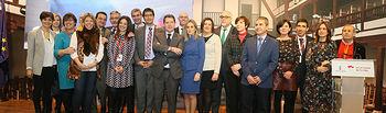 El presidente de Castilla-La Mancha, Emiliano García-Page, inaugura oficialmente el stand de la Comunidad Autónoma en la Feria Internacional de Turismo (FITUR). (Fotos: Ignacio López//JCCM)