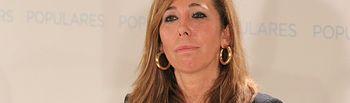 Alícia Sánchez-Camacho durante su intervención