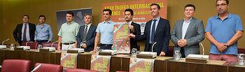 Presentación del XXXII Trofeo Internacional de Tenis 'Ciudad de Albacete'