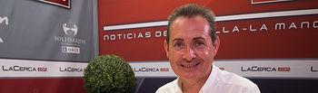 """Michel Montaner, autor del libro \""""El Espíritu de Xirivella\"""" y Secretario General PSPV-PSOE Xirivella"""