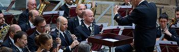 Actuación de la Banda Sinfónica Municipal de Albacete en el Museo de la Cuchillería